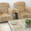 Vintage Coffee Bean Bag Chairs 900x600px