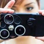 iPhone Lens Dial bless your iPhone with three lenses