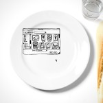 iPlate brings your inner Photoshop-geek to the dinning table