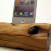 iphone Dock Red Wood 900x600px