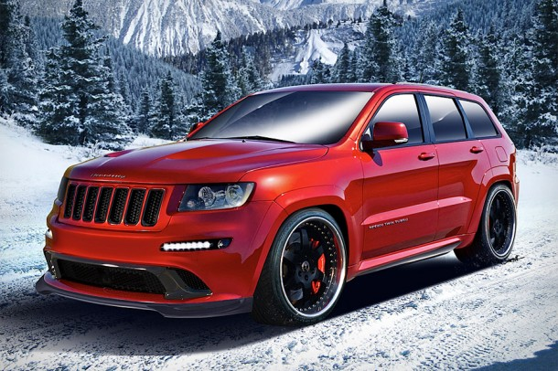 2013 HPE800 Twin Turbo Jeep by Hennessey Performance