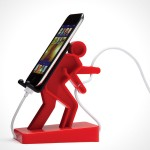 Boris Phone Holder – holds your phone and its cable