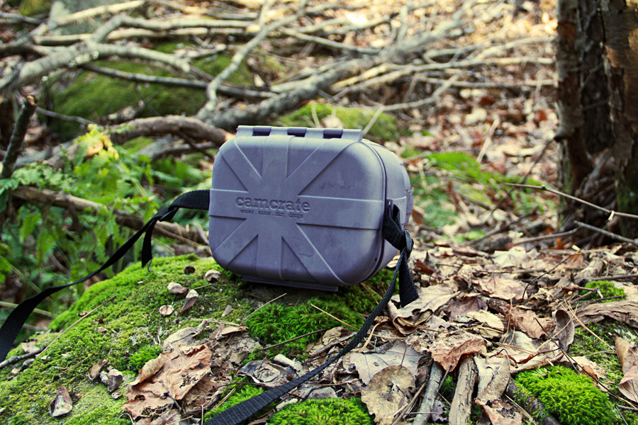 Cam Crate - weather proof DSLR camera case