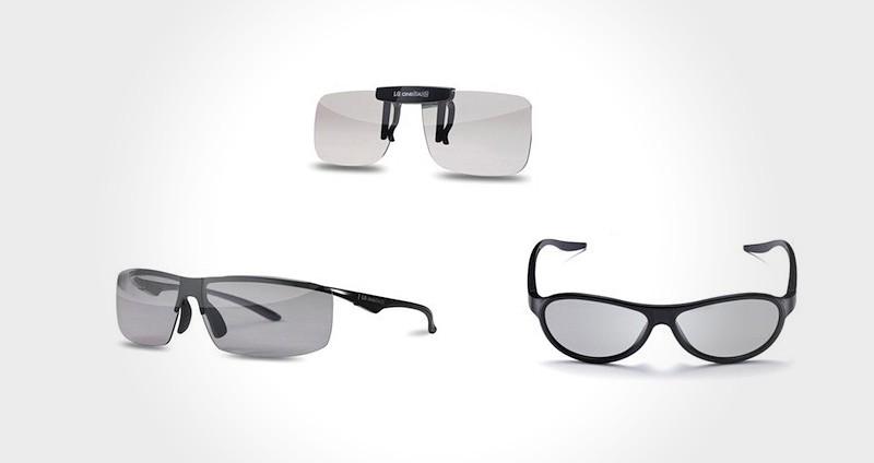 LG F310, F320 and F360 3D Glasses