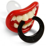 Lil' Vampire Pacifier makes your baby looks like a vampire