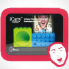 OZAKI iCarry FaceTime Stand with Powerless Amplifier