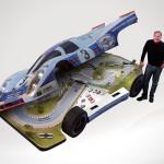 RCR 917 Replica Car Slot Car Race Track
