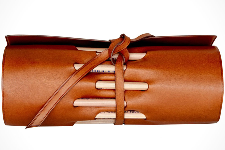 TravelTeq Leather Pencil Holder