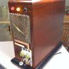 vintage radio computer case