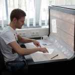 BendDesk – oversized touchscreen PC of the future