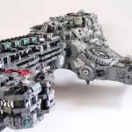 cool stuff: custom 15,000-piece StarCraft II Battlecruiser