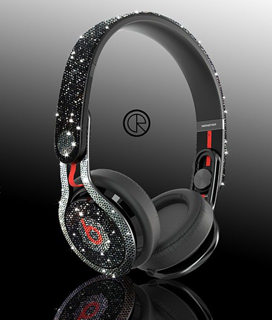 Dr. Dre MixR Headphones with 2,750 Swarovski Crystals