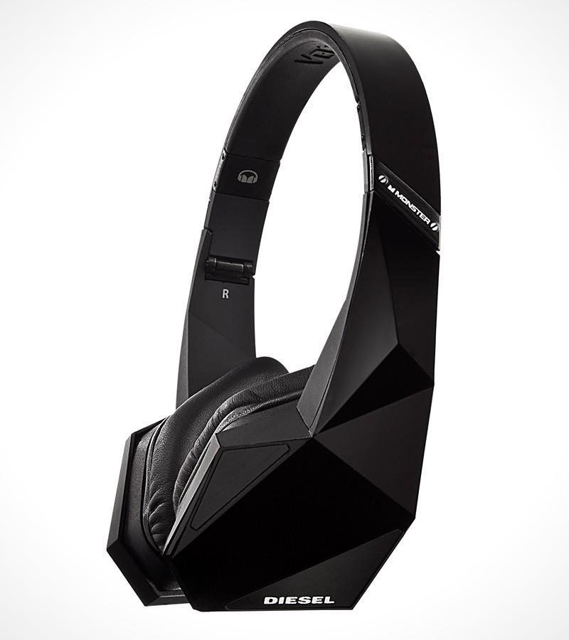 monster diesel vektr on ear headphones mikeshouts. Black Bedroom Furniture Sets. Home Design Ideas