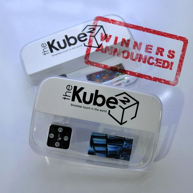 theKube2 giveaway winners