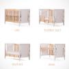 Gro Furniture 5-in-1 Companion Crib and Desk - p. pod