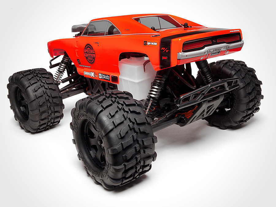 HPI Racing Special Edition Savage X 4.6 RTR 2.4GHz with Dodge Charger