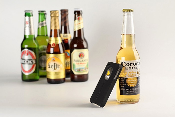INTOXICASE - Bottle Opener equipped iPhone Case