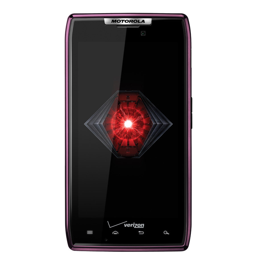 Motorola DROID RAZR Captivating Purple Edition