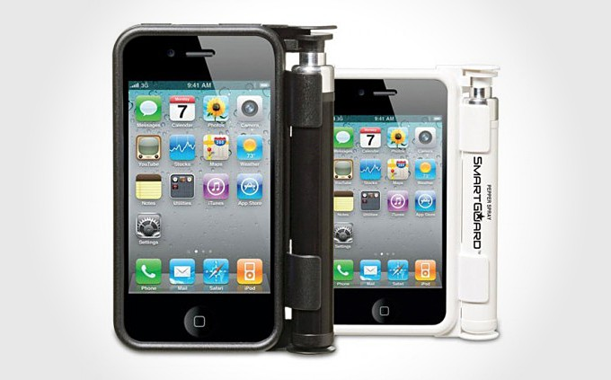 SmartGuard Pepper Spray Smart Phone Case