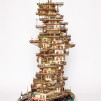 Takanori Aiba's Bonsai Art(chitecture) - Ice Cream Packages Tower