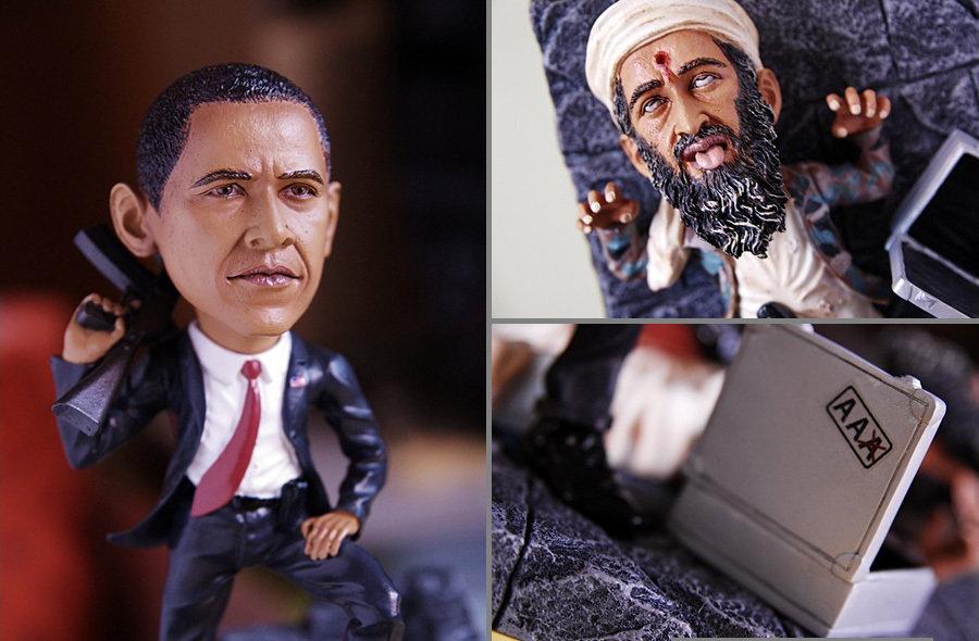 The Obama Kill Osama Collectible Figure