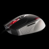 Tt eSPORTS Black Combat White Gaming Mouse