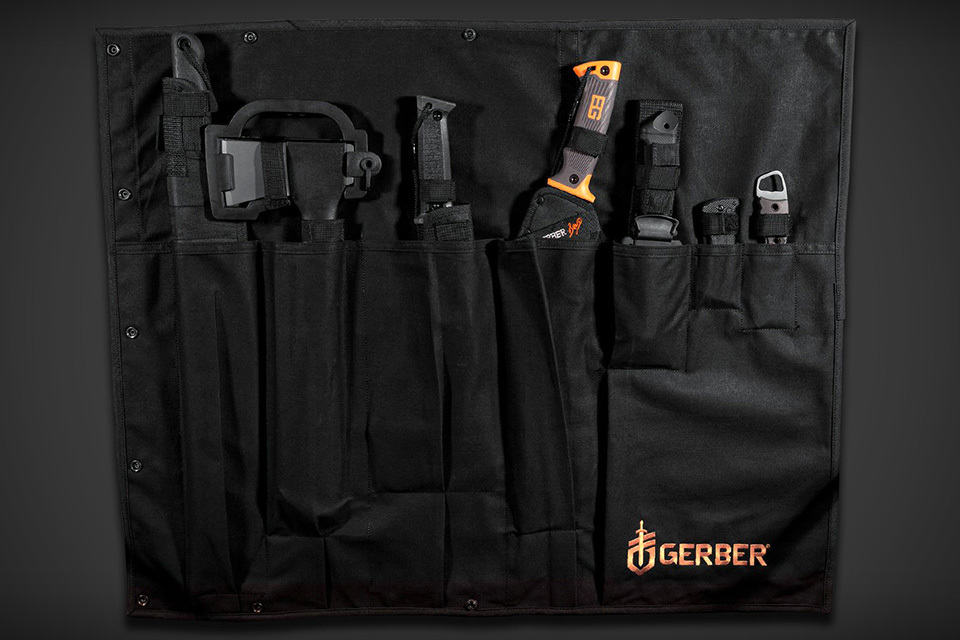 Gerber Apocalypse Survival Kit unrolled