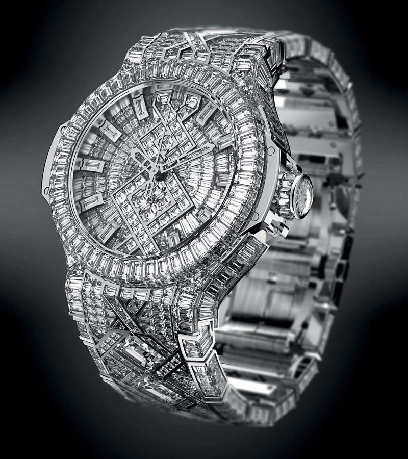 "Hublot The ""5 Million"" Luxury Watch"