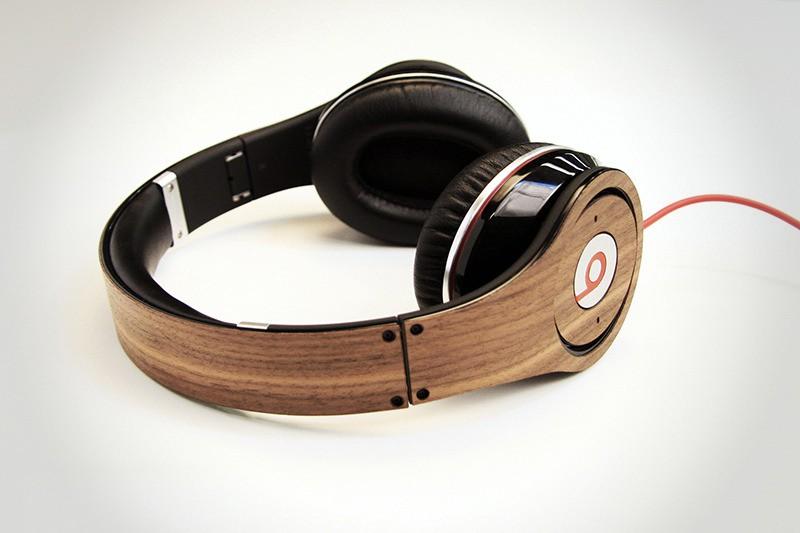 LAZERWOOD for Beats Studio Headphones - Walnut