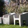 Zachary A. Design Stone Furniture - The Van Dyke and Van Eyke Collection