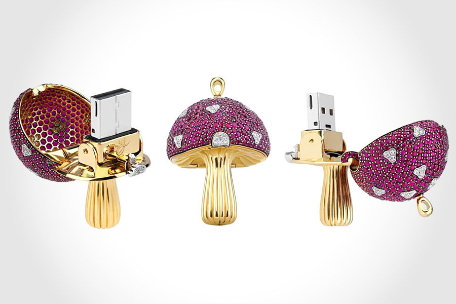 Magic Mushroom USB Flash Drive