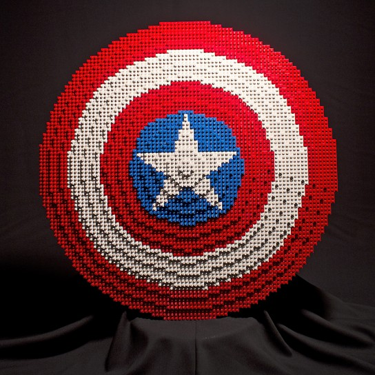 Custom LEGO The Avengers' Props