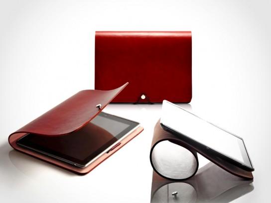 EVOUNI Leather Arc Cover for iPad
