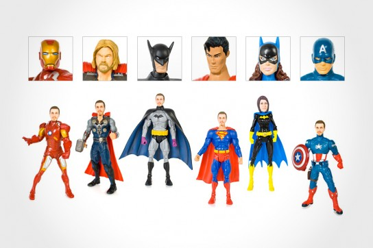 personalized superhero action figures mikeshouts
