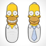 Santa Cruz x The Simpsons Skateboard