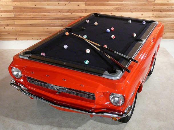 James Perse Limited Edition Skateboards · 1965 Ford Mustang Pool Table