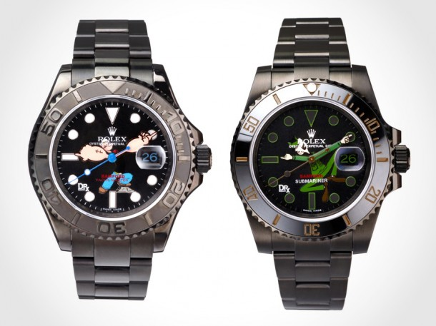 DRx Bamford Army vs Navy Watches