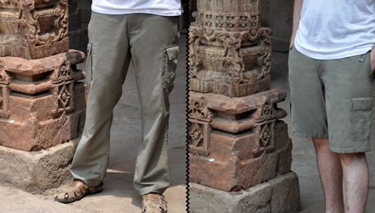 P^cubed Travel Pants - The Adventure Travelers Pants and Shorts