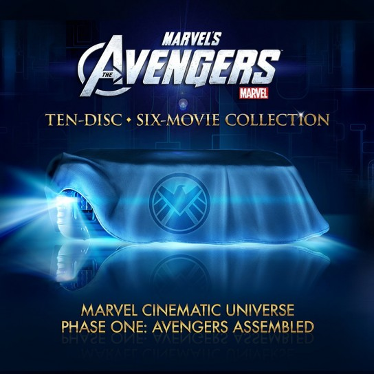 Phase One - Avengers Assembled BluRay Collector's Set
