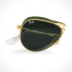 Ray-Ban Folding Aviator Sunglasses RB3479-01