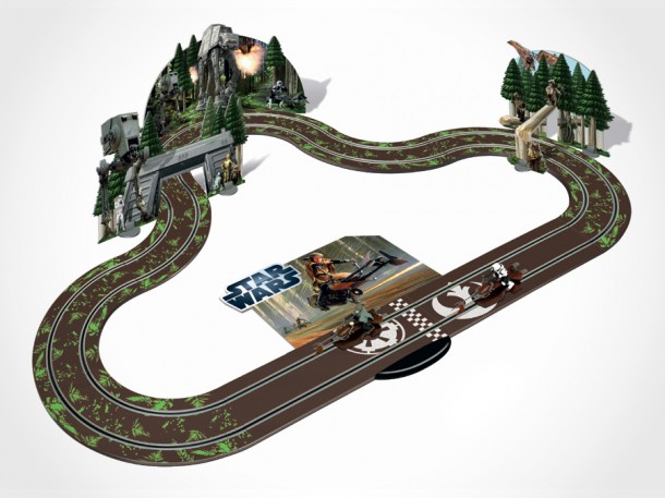 Scalextric Star Wars Slot Car Sets | SHOUTS