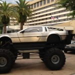 Holly Molly! it's a DeLorean Monster Truck!