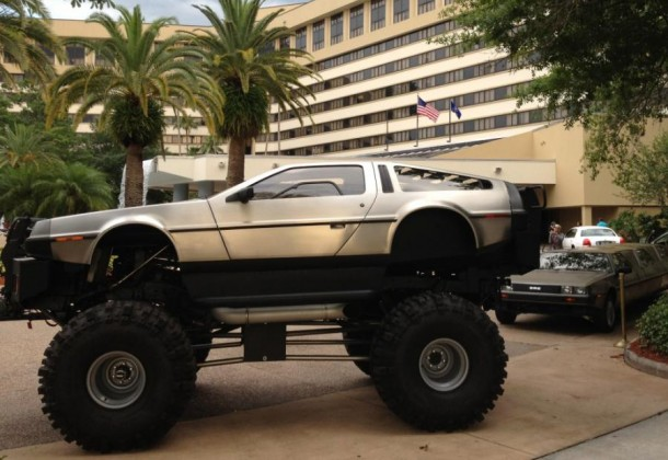 DeLorean Monster Truck aka D-REX