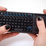 Miniature Wireless Keyboard with Touchpad