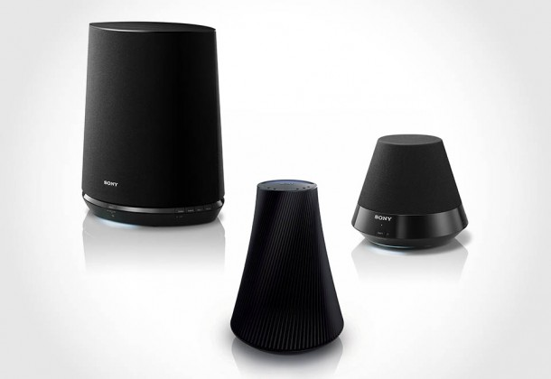 Sony SA-NS Series Wireless Speakers