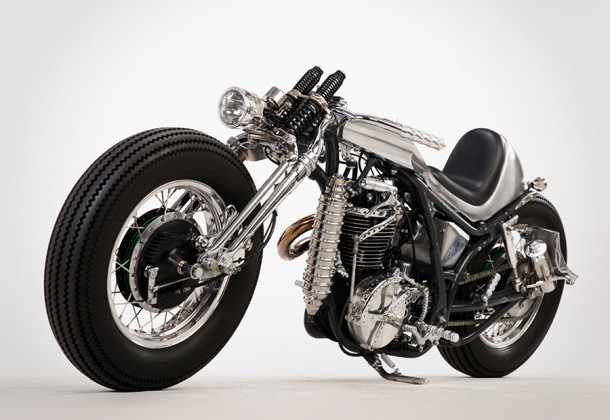 "Yamaha SR400 Custom ""Clock Work""   US$tba   motorrock.net"