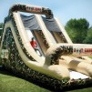 85 Foot Inflatable Military Obstacle Course