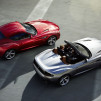 BMW Zagato Roadster alongside the Coupe model