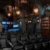 Custom Dark Knight Home Theater