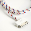 Eastern Collective Textile iCables: DOUBLE STRIPE COLLECTIVE CABLE